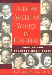 Cover of: African American women in Congress