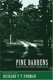 Cover of: Pine Barrens