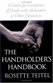 Cover of: The Handholder