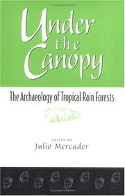 Cover of: Under the Canopy