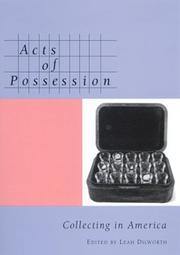 Cover of: Acts of possession |