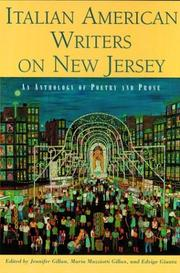 Cover of: Italian American writers on New Jersey