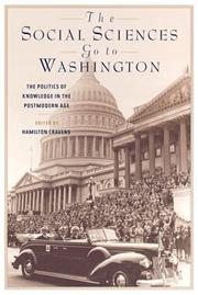 Cover of: The Social Sciences Go to Washington | Hamilton Cravens