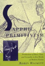 Cover of: Sapphic primitivism | Robin Hackett
