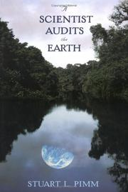 Cover of: A Scientist Audits the Earth | Stuart L. Pimm