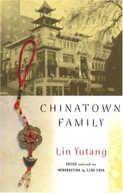Cover of: Chinatown Family (Multi-Ethnic Literatures of the Americas)