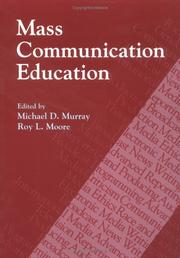 Cover of: Mass communication education |