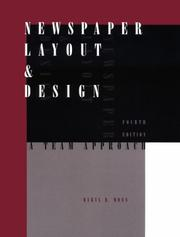 Cover of: Newspaper layout & design | Daryl R. Moen