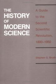 Cover of: The history of modern science