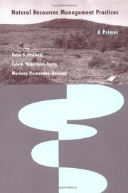 Cover of: Natural Resources Management Practices | Peter F. Ffolliott