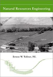 Natural resources engineering by Ernest W. Tollner