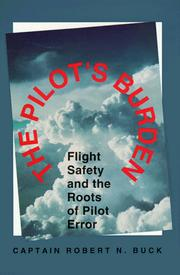 Cover of: The pilot's burden
