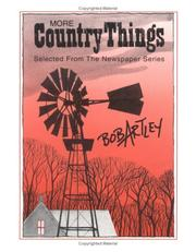 Cover of: More country things