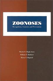 Cover of: Zoonoses by
