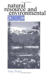 Cover of: Natural resource and environmental economics