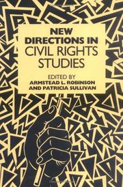 Cover of: New directions in civil rights studies |