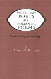 Cover of: Victorian Poets and Romantic Poems