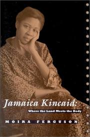 Cover of: Jamaica Kincaid | Moira Ferguson
