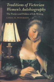 Cover of: Traditions of Victorian women's autobiography
