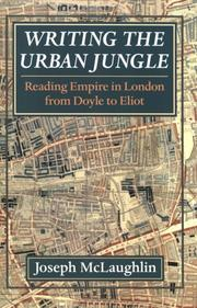 Cover of: Writing the urban jungle