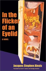 Cover of: In the flicker of an eyelid