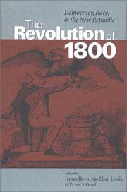 Cover of: The revolution of 1800