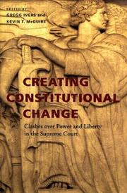 Creating constitutional change