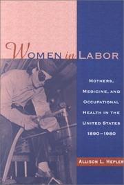 Cover of: Women in Labor | Allison L. Hepler