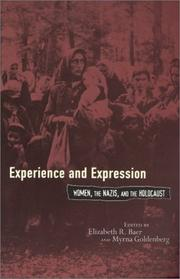 Cover of: Experience and Expression |