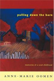 Cover of: Pulling down the barn | Anne-Marie Oomen