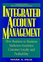 Cover of: Integrated account management