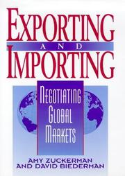Cover of: Exporting and importing