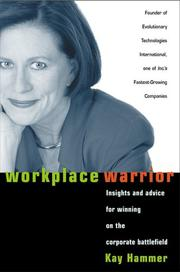 Cover of: Workplace Warrior | Kay Hammer
