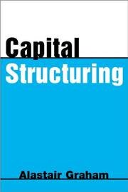 Cover of: Capital Structuring (Financial Risk Management Series: Corporate Finance)