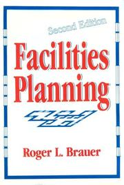 Cover of: Facilities planning | Roger L. Brauer