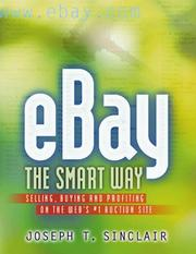 eBay the Smart Way by Joseph T. Sinclair