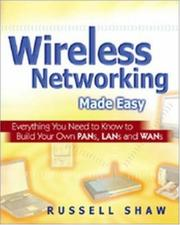 Cover of: Wireless Networking Made Easy