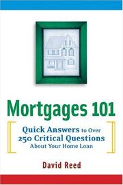 Cover of: Mortgages 101
