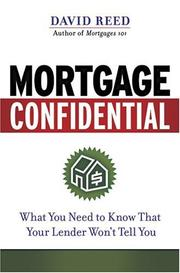 Cover of: Mortgage Confidential