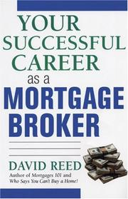 Cover of: Your Successful Career As a Mortgage Broker
