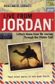 Cover of: Live from Jordan | Benjamin Orbach
