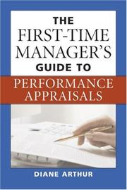 Cover of: The First-Time Manager's Guide to Performance Appraisals