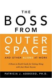 Cover of: The Boss from Outer Space and Other Aliens at Work