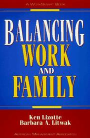 Cover of: Balancing work and family