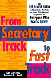 Cover of: From secretary track to fast track