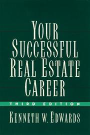 Cover of: Your successful real estate career
