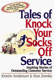 Cover of: Tales of Knock Your Socks Off Service | Kristin Anderson