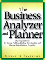 Cover of: The business analyzer and planner