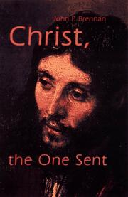 Cover of: Christ, the one sent