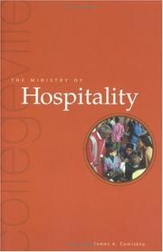 Cover of: The Ministry of Hospitality | James A. Comiskey